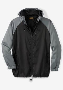 Boulder Creek® Lightweight Windbreaker Jacket,