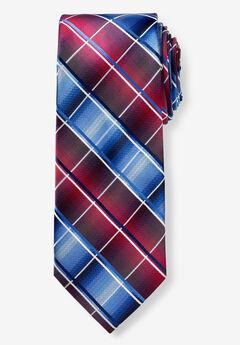 KS Signature Extra Long Check Tie,