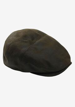 Faux Leather Ivy Cap,