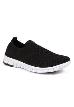 Deer Stags® NoSoX® Eddy Flexible Sole Bungee Lace Slip-On Oxford Sneaker Hybrid,