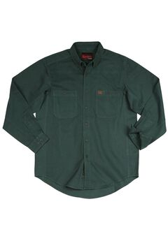 Long-Sleeve Cotton Work Shirt by Wrangler®,