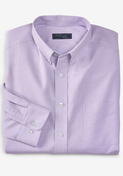 KS Signature Wrinkle-Resistant Oxford Dress Shirt, SOFT PURPLE