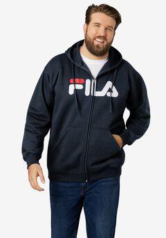 FILA® Zip-Front Logo Sweatshirt,