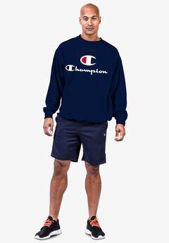 Champion® Crewneck C-Print Sweatshirt,