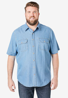 Boulder Creek® Short-Sleeve Shirt,