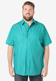 Striped Short-Sleeve Sport Shirt,