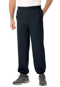 Fleece Elastic Cuff Sweatpants,