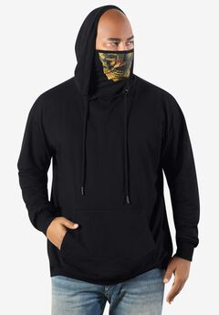 MVP Collections® Face Mask Pullover Hoodie,
