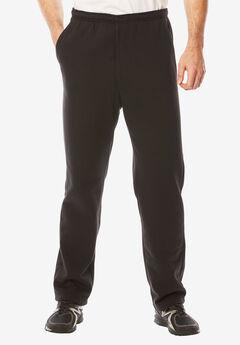 Fleece Zip Fly Pants,