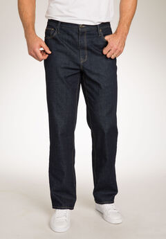 Liberty Blues™ Loose Fit 5-Pocket Stretch Jeans,