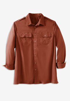 Long Sleeve Pilot Shirt by Boulder Creek®,