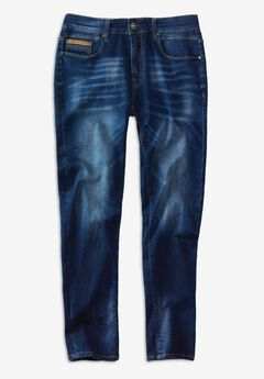 Rocawear® Down 5-Pocket Jeans,