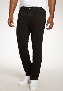 Liberty Blues™ Athletic Fit Side Elastic 5-Pocket Jeans,
