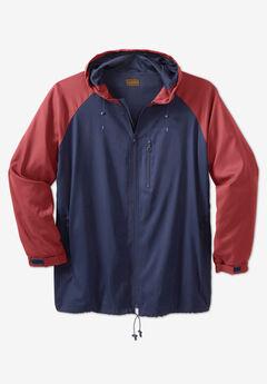 Lightweight Packable Performance Windbreaker Jacket,