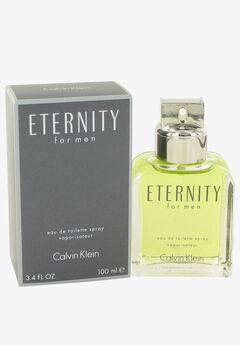 ETERNITY by Calvin Klein for Men Eau De Toilette 3.4oz M,