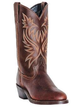 "Laredo 12"" Contrast Stitch Cowboy Boots,"