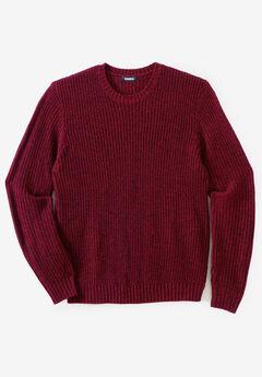 Shaker Knit Crewneck Sweater,