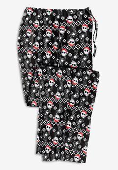 Micro-Fleece Holiday Pajama Pants,