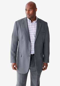 KS Signature Easy Movement® Two-Button Jacket, GREY