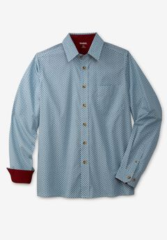 Poplin Button-Down Shirt,