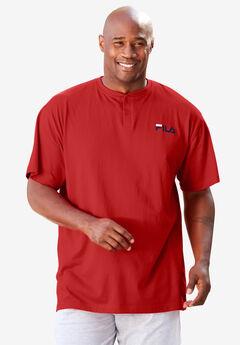 FILA® Short-Sleeve Henley T-Shirt,