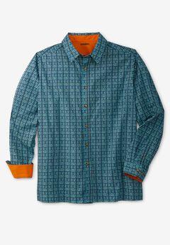 Poplin Button-Down Shirt,