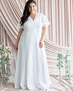 Blissful Lace Wedding Gown,