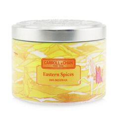 100% Beeswax Tin Candle - Eastern Spices, Eastern Spices