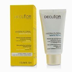 Hydra Floral White Petal Neroli & Sweet Orange Skin Perfecting Hydrating Sleeping Mask,