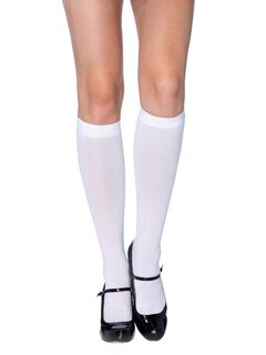 Opaque Knee Highs,