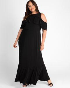 Piper Cold Shoulder Maxi Dress,