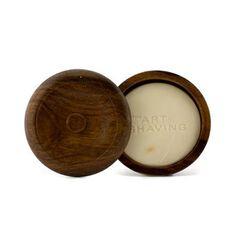 Shaving Soap w/ Bowl - Sandalwood Essential Oil (F,