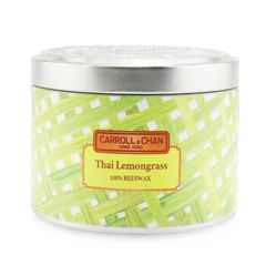 100% Beeswax Tin Candle - Thai Lemongrass, Thai Lemongrass