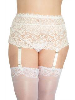 Nickel Free Lace Garter Belt,