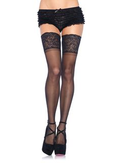 Spandex Sheer Stockings,