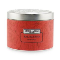100% Beeswax Tin Candle - Red Red Rose, Red Red Rose