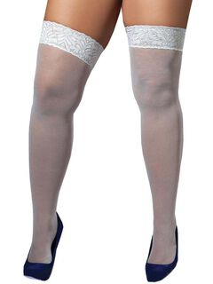 Lace Top Stockings,