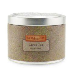 100% Beeswax Tin Candle - Green Seas, Green Seas