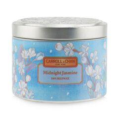100% Beeswax Tin Candle - Midnight Jasmine,
