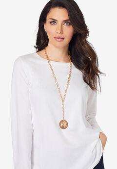 Chain Pendant Necklace,