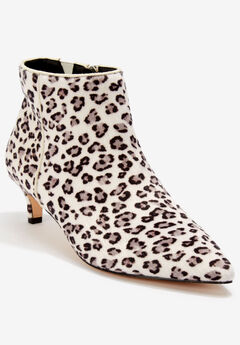 The Meredith Bootie , SNOW LEOPARD