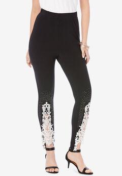 Lace-Applique Legging,