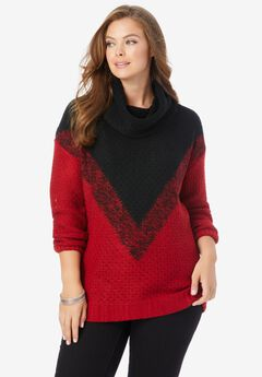 Ombre Pattern Sweater,