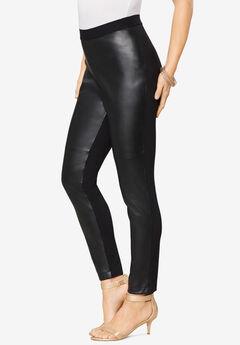 Faux-Leather Legging,