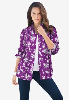 Long-Sleeve Kate Big Shirt,
