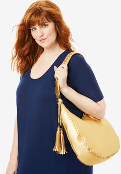 Metallic Hobo Bag,