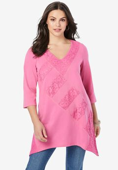 Patchwork Lace Tunic,