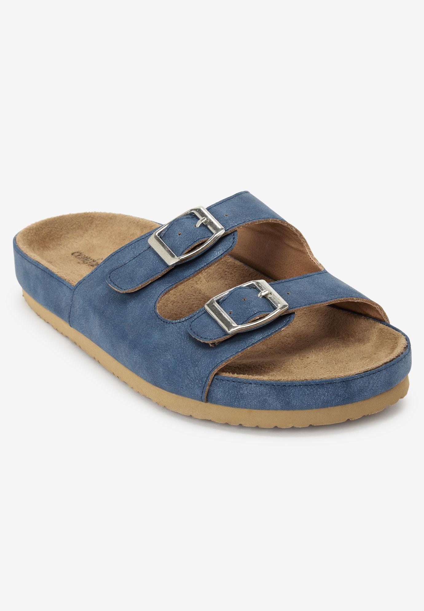 Wide Width Sport Sandals   One Stop Plus