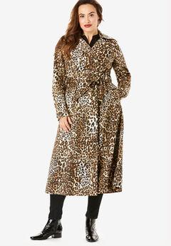 Essential Trench Coat, CLASSIC ANIMAL
