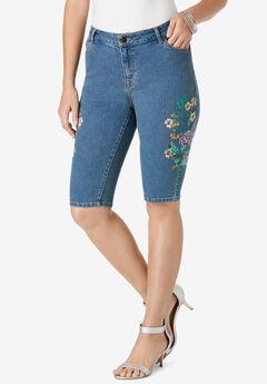 Floral Bermuda Short,